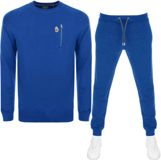 bright blue Luke 1977 tracksuit